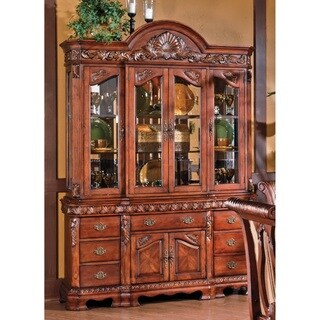 Melodie Buffet with Hutch by Greyson Living