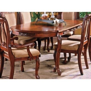 Link to Melodie Cherry Finish 84-inch Dining Table by Greyson Living Similar Items in Dining Room & Bar Furniture