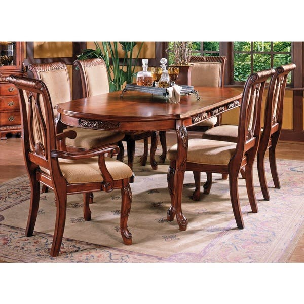 Shop Melodie Traditional Dining Set with Optional Buffet and ...
