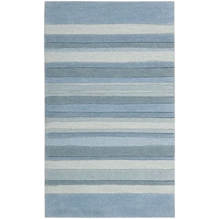 Nourison Interlude Light Blue Accent Rug (2'3 x 3'9)
