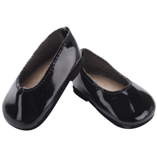 Springfield Collection Patent Leather Shoes-Black