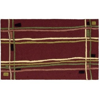 Nourison Textures Red Accent Rug (1'8 x 2'9)