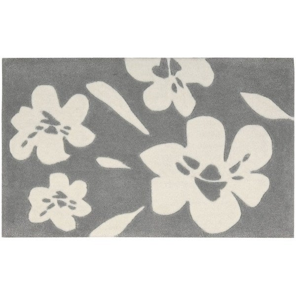 Nourison Interlude Grey Accent Rug (1'8 x 2'9)