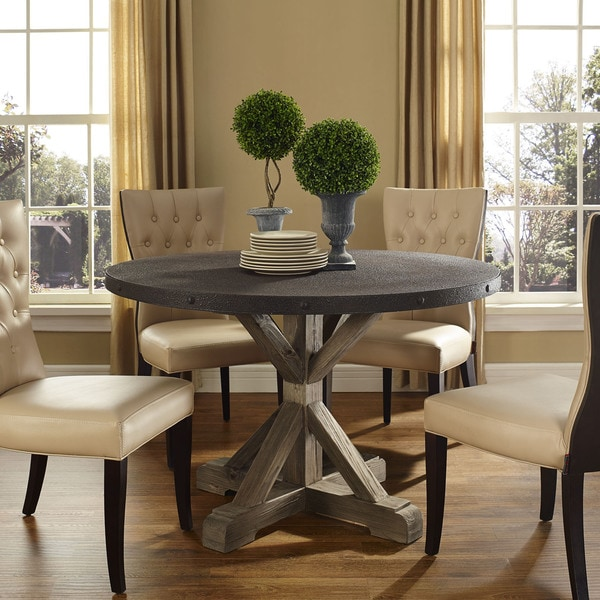 Shop Stitch Wood Top Dining Table