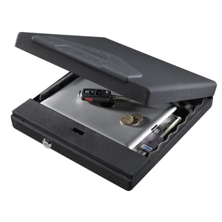 Stack-On Large Portable Case with Electronic Lock