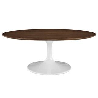 "Lippa Walnut Veneer 42"" Coffee Table"