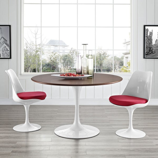 Shop Lippa Walnut Veneer 47 Quot Dining Table On Sale Free