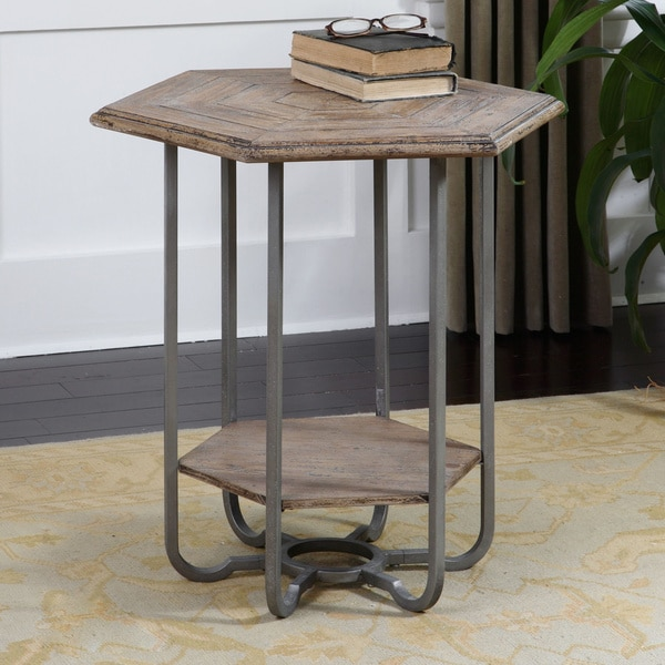 Pinebrook Coffee Table Uttermost Mayson Hexagonal Accent Table - Free Shipping Today ...