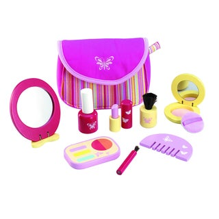 Pinky Cosmetic Wooden Toy Set