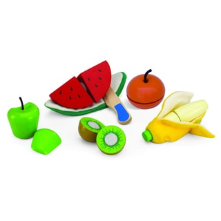 Shop Cut And Peel Toy Fruit Set Free Shipping On Orders