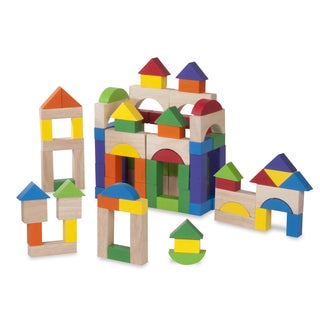 Wonderworld Toys 100-piece Wooden Block Set