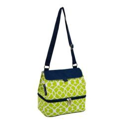 Picnic at Ascot Trellis Green Lunch Cooler