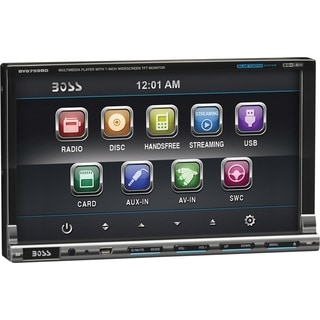 Boss Audio BV9759BD Double-DIN 7 inch Motorized Touchscreen DVD Playe