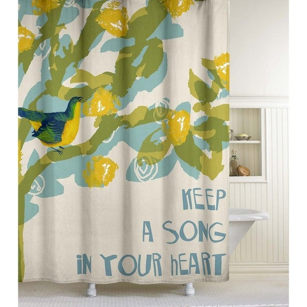 Song Bird Shower Curtain - Free Shipping On Orders Over $45 ...