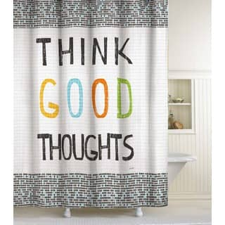 Think Good Thoughts Shower Curtain|https://ak1.ostkcdn.com/images/products/9084249/P16274742.jpg?impolicy=medium