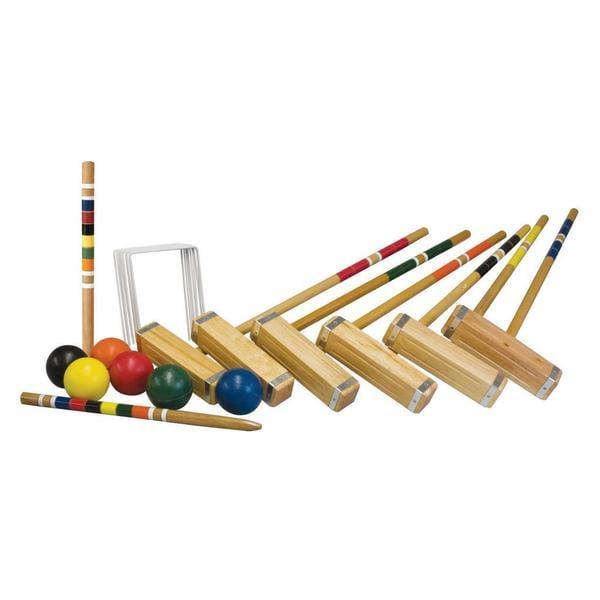 Franklin Sports Advanced 6-player Croquet Set
