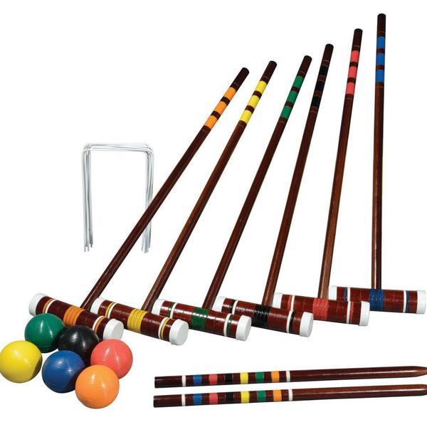 Franklin Sports Intermediate 6-player Croquet Set