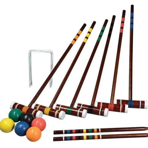 Franklin Sports Intermediate 6-player Croquet Set - Multi - 25.2 x 9.65 x 8.86 in