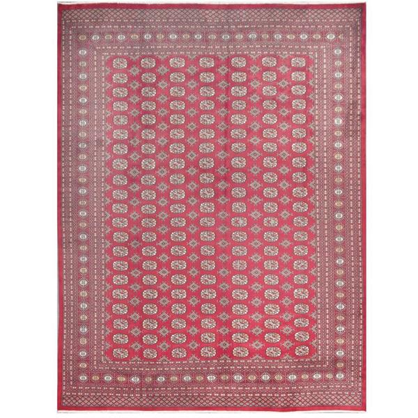 Vintage Persian Bokhara Wool Area Rug 10 X 13: Shop Herat Oriental Pakistani Hand-knotted Bokhara Red