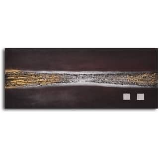 Hand-painted 'Strangled Copper' Oil Painting