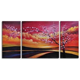 Hand-painted 'Painted Sky' Oil Painting
