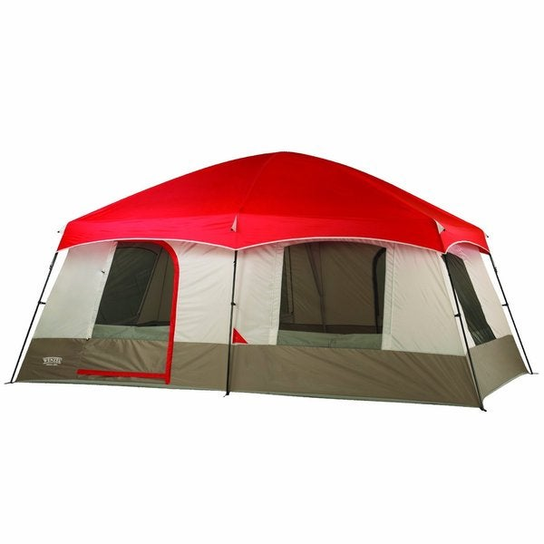 Shop Wenzel Timber Ridge 10 Person Tent Free Shipping