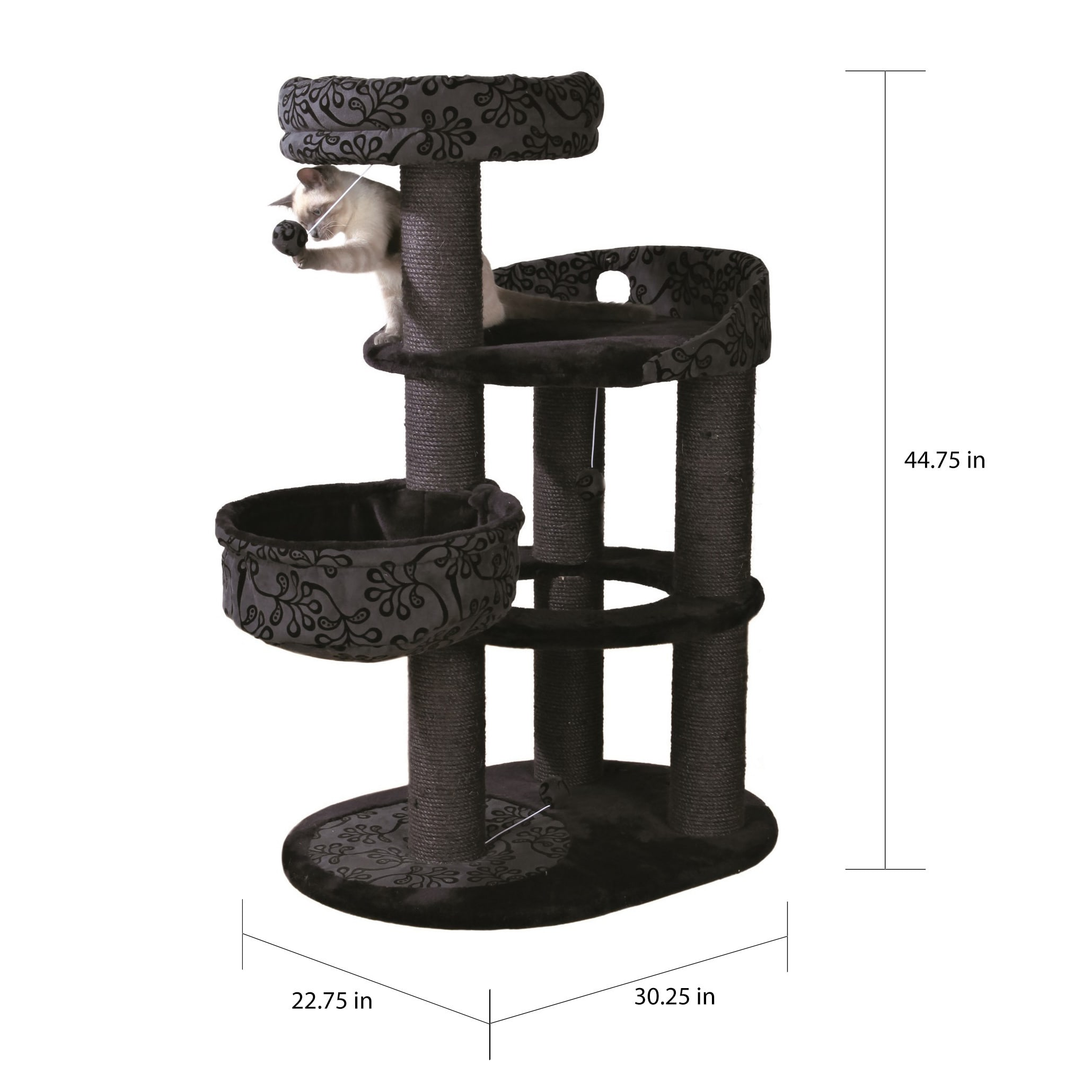 Trixie Filippo 45 Inch Cat Tree Overstock 9085391