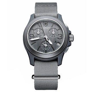 Swiss Army Men's 241532 Original Chronograph Grey Watch