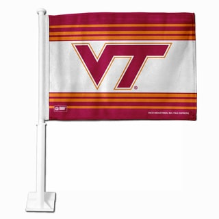 NCAA Virginia Tech Hokies Car Flag