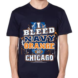 Chicago Football 'I Bleed Navy and Orange Go Chicago!' T-shirt|https://ak1.ostkcdn.com/images/products/9085814/Chicago-Bears-I-Bleed-Navy-and-Orange-Go-Chicago-T-shirt-P16275999.jpg?impolicy=medium