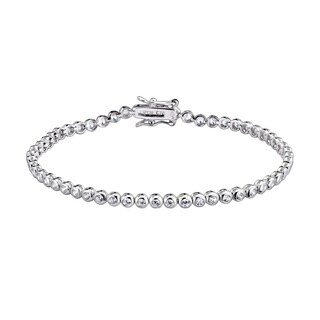 Collette Z Sterling Silver Cubic Zirconia Bracelet