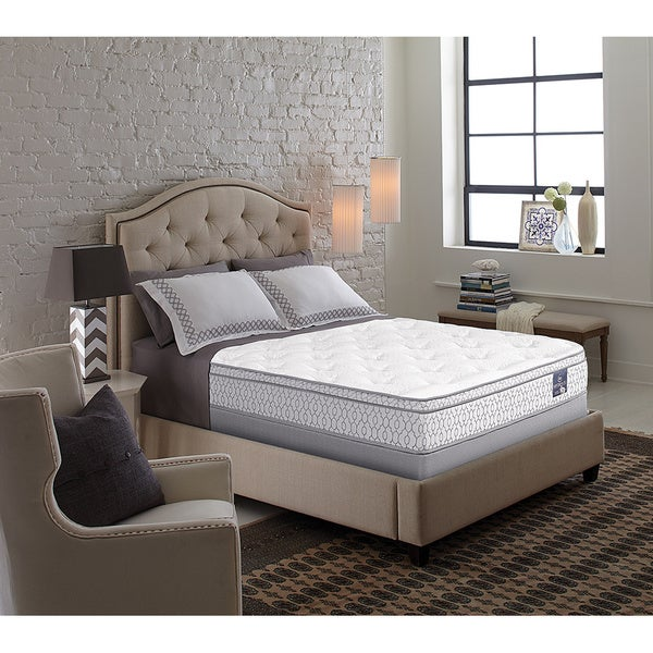 Serta Perfect Sleeper Bristol Way Supreme Gel Euro Top Cal King-size Mattress Set