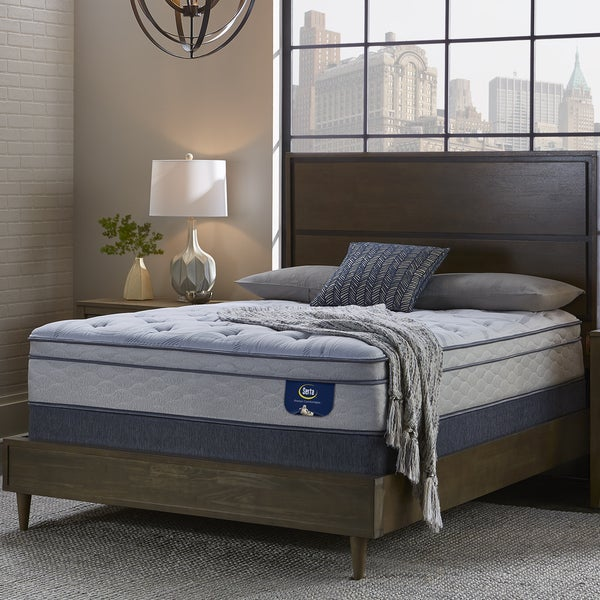 shop serta perfect sleeper bristol way ii supreme gel eurotop split queen size mattress set on. Black Bedroom Furniture Sets. Home Design Ideas