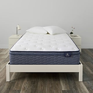 Serta SleepTrue 12.5-inch Malloy Euro Top Plush Innerspring Mattress Set