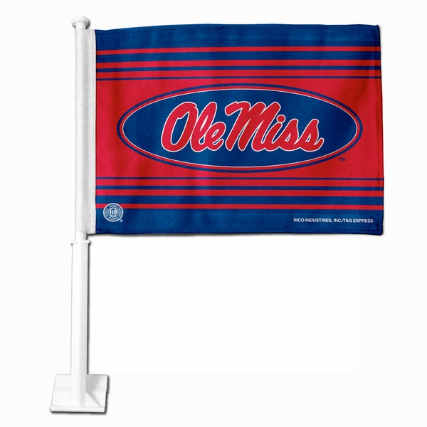 NCAA Mississippi State Bulldogs Car Flag