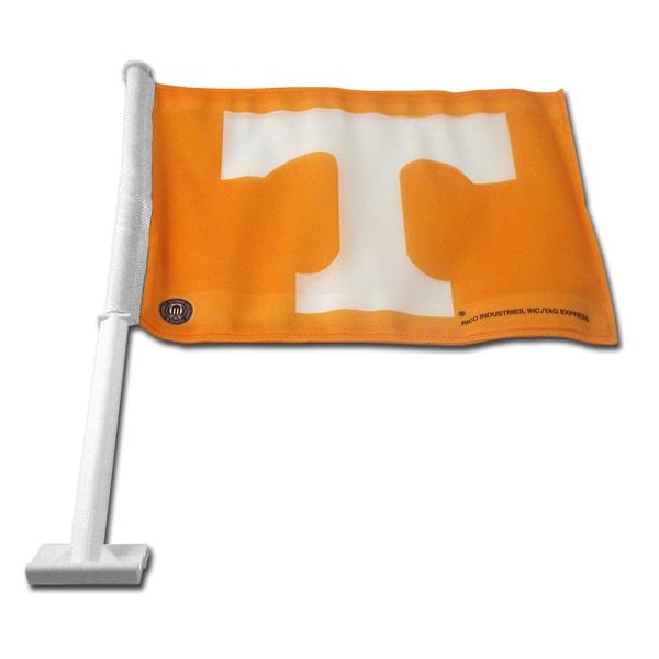 NCAA Tennessee Volunteers Car Flag