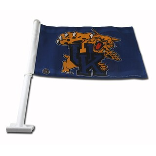 NCAA Kentucky Wildcats Car Flag