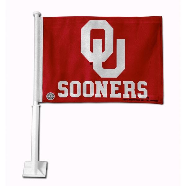 NCAA Oklahoma Sooners Car Flag