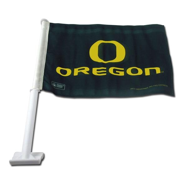 NCAA Oregon Ducks Car Flag