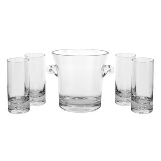 Chelsea 5-piece European-style Crystal Beverage Set