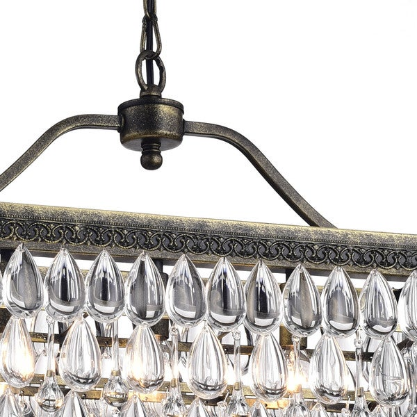 rectangle crystal chandelier toronto antique copper light rectangular dining room canada sale