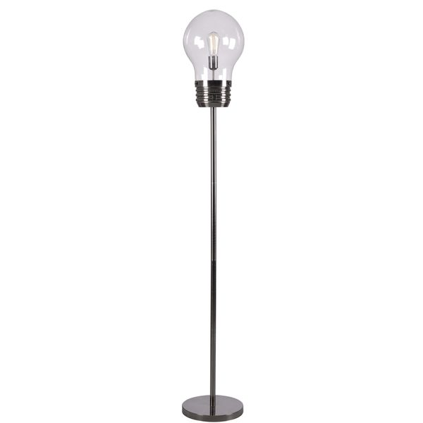 Edison Bulb Fan Floor Lamp: Free Shipping Today