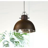 Camden Antique Bronze with Nickel 1-light Pendant