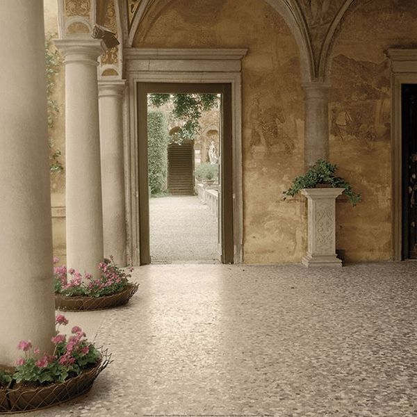 Alan Blaustein 'Villa Portico No. 2' Gallery Wrapped Canvas Art