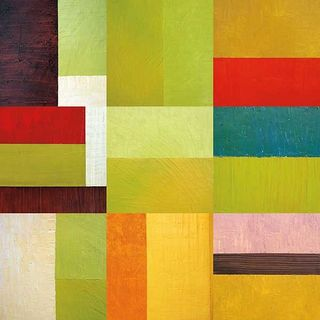 Janet Bothne 'Color Study Abstract 1' Gallery Wrapped Canvas Art
