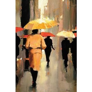 Lorraine Christie 'In Barcelona' Gallery Wrapped Canvas Art