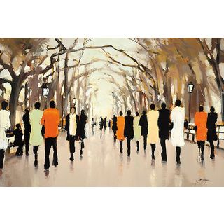 Lorraine Christie 'Poet's Walk' Gallery Wrapped Canvas Art