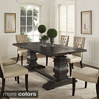 Column Wood Dining Table