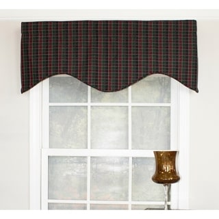 Tammy Grape Cornice Window Valance