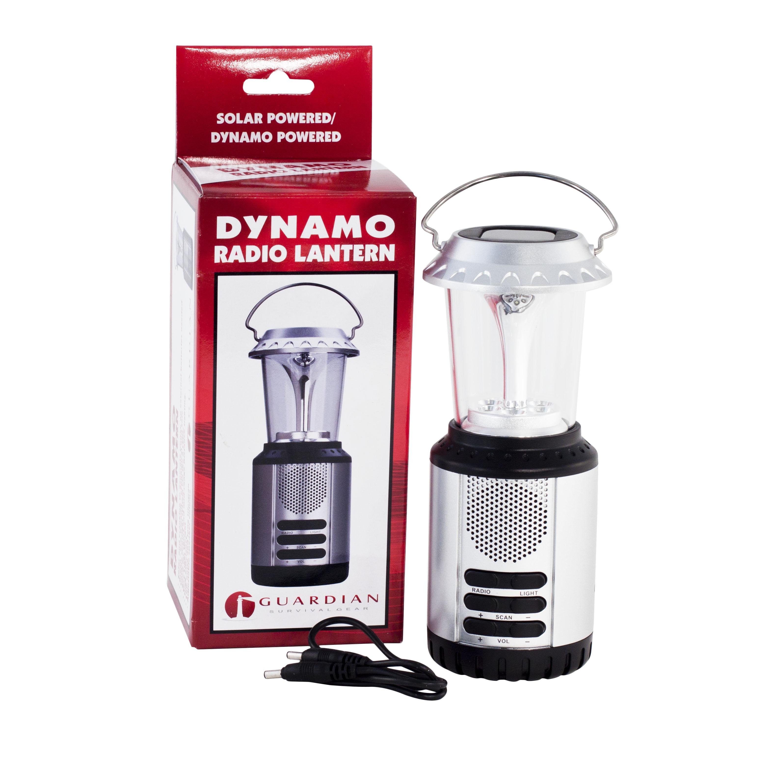 Guardian Gear Emergency Dynamo Lantern with Radio (Set of...